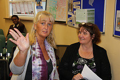 ARC Cancer Support & RAPE Crisis Centre at Ballymun Health Awareness Seaminar - Sept 2010