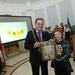 DCIF logo winner R Kenealy with DCC Lord Mayor Cllr Naoise OMuirí