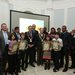 DCIF logo winners with DCC Lord Mayor OMuir°, Fingal Deputy Mayor Hamill and members of DCIF launch 191112
